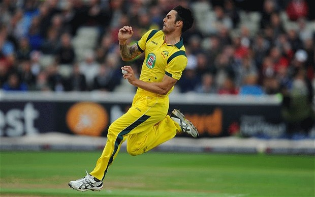 Mitchell Johnson speed