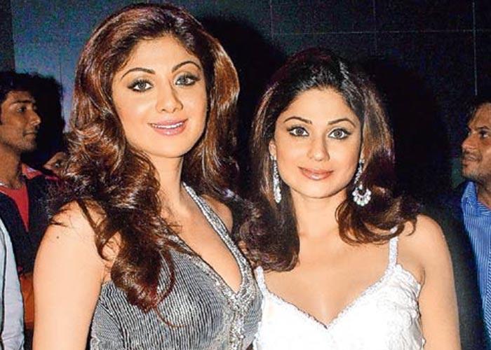 Shamita Shetty and Shilpa Shetty