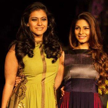 Tanisha Mukherjee and Kajol