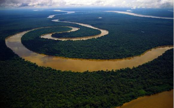 Amazon River, South America :