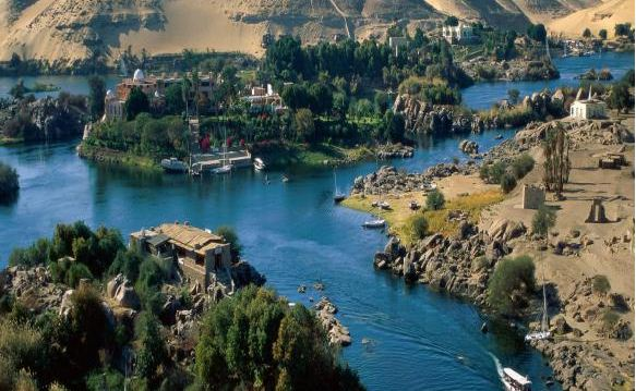 Nile River, North-East Africa :