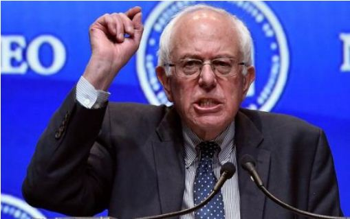 sanders-was-reported-to-be-a-heckler